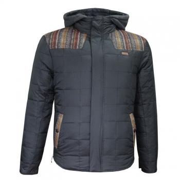 АКЦИЯ: скидка 30% от стоимости! Lee Cooper Knit Hooded Down Jacket Mens S