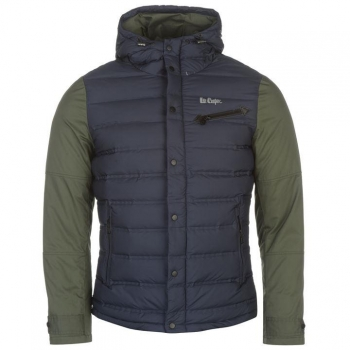 Lee Cooper Cont Down Jacket Mens M