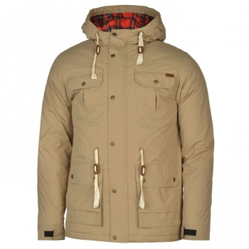 Lee Cooper Padded Parka Mens (L)