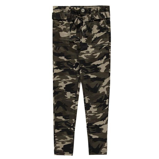 Firetrap Camo Trousers Junior Girls