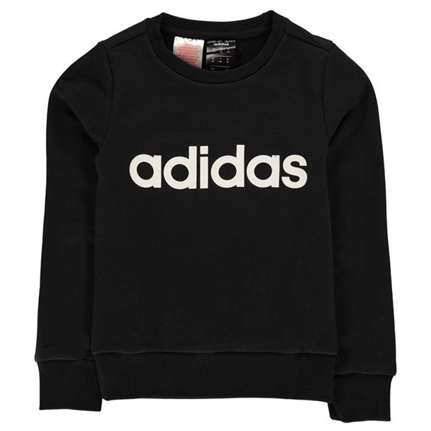 adidas Logo Sweatshirt Junior Girls