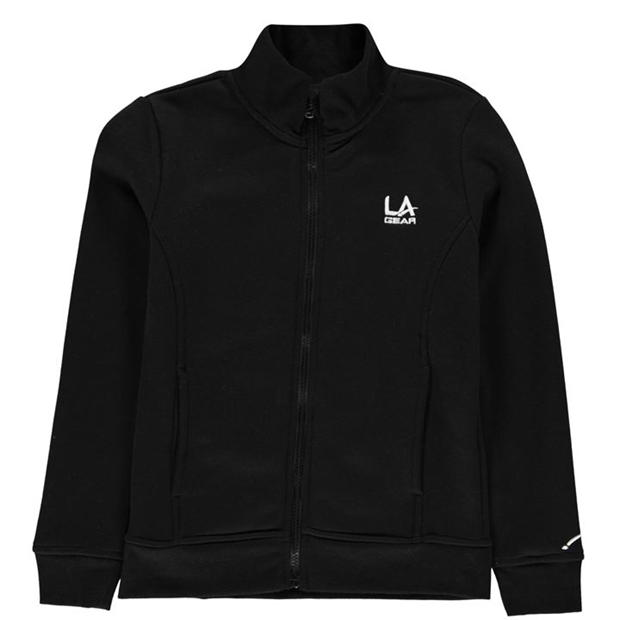 LA Gear Full Zip Fleece Girls