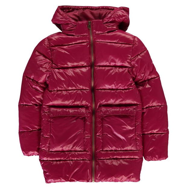 Everlast Long Bubble Jacket Junior Girls