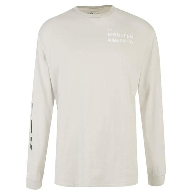 Reebok Meet You There Long Sleeve T Shirt Mens
