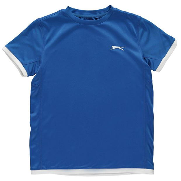 Slazenger Court T Shirt Junior Boys