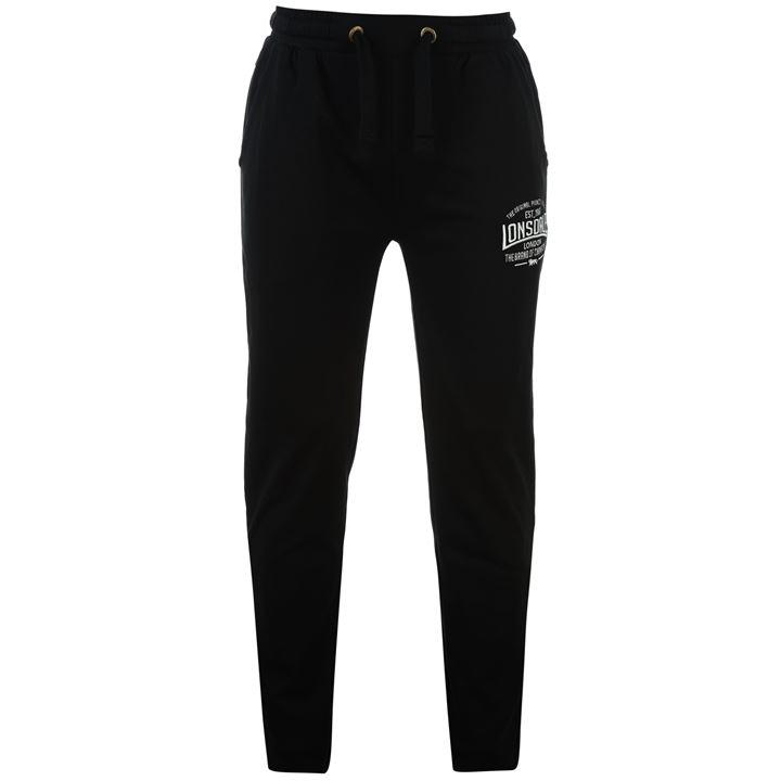 Lonsdale Box Lightweight Sweat Pants Mens