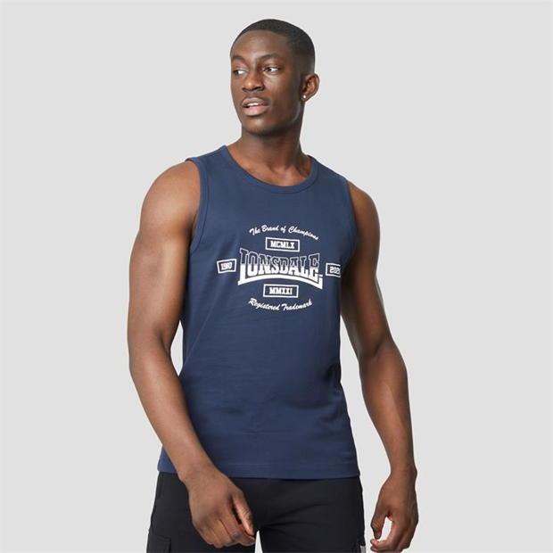 Lonsdale Heavyweight Jersey Tank Vest
