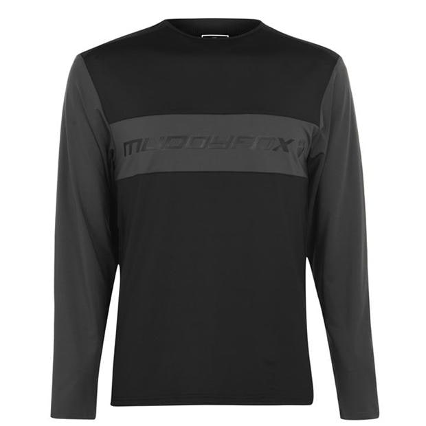 Muddyfox Long Sleeve Technical Tee Mens