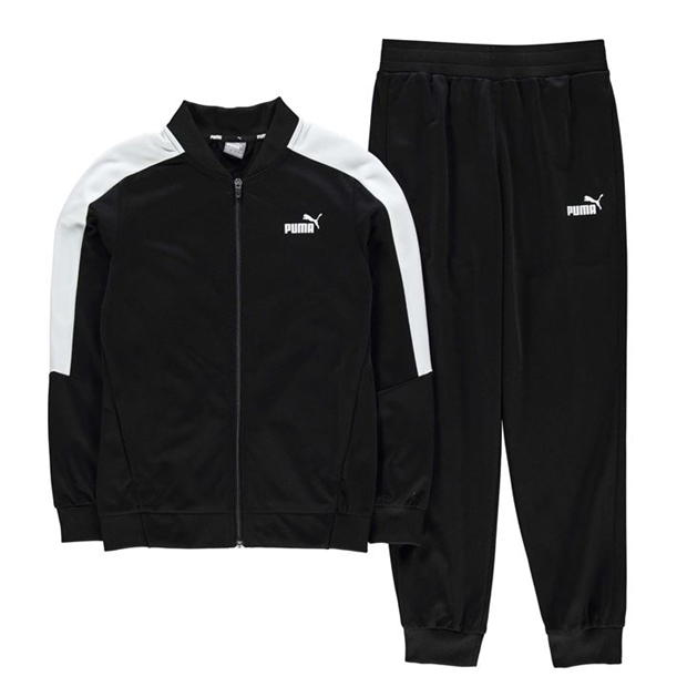 Puma BB Polyester Tracksuit Junior Boys