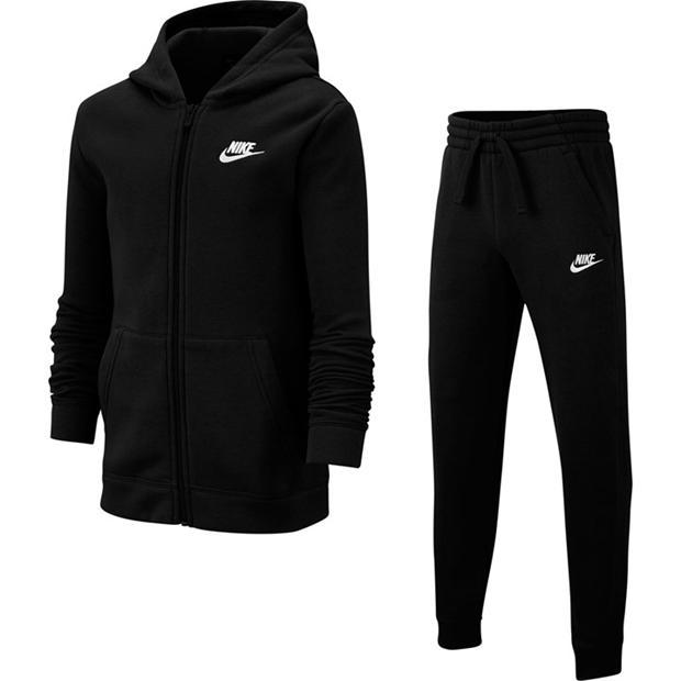Nike Fleece Tracksuit Junior Boys