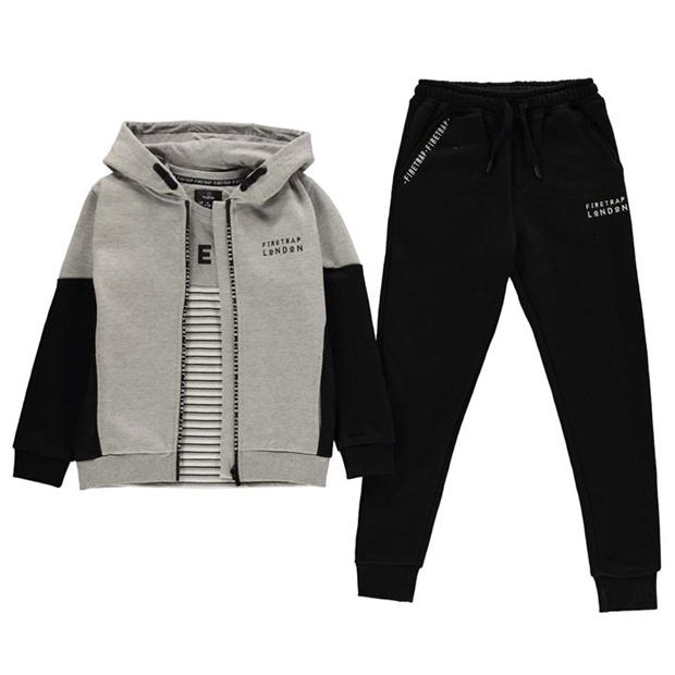 Firetrap 3 Piece Jogger Set Junior Boys