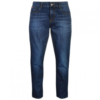 SALE: 30% скидки от стоимости! Lee Cooper Straight Leg Jeans Mens  32WL
