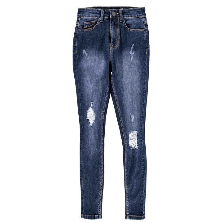 Firetrap Ripped Skinny Jeans Ladies