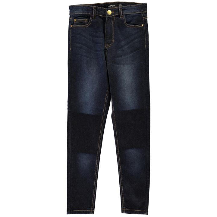Golddigga Patch Jeans Ladies