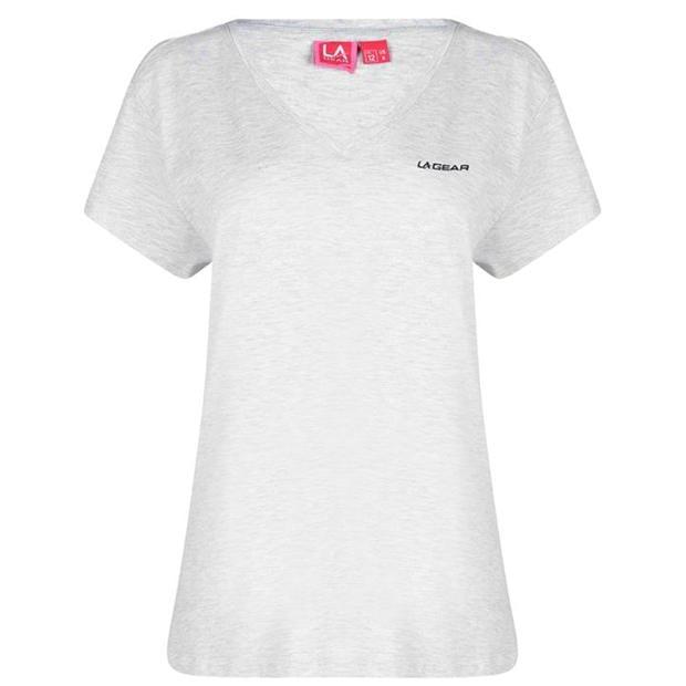 LA Gear V Neck T Shirt Womens