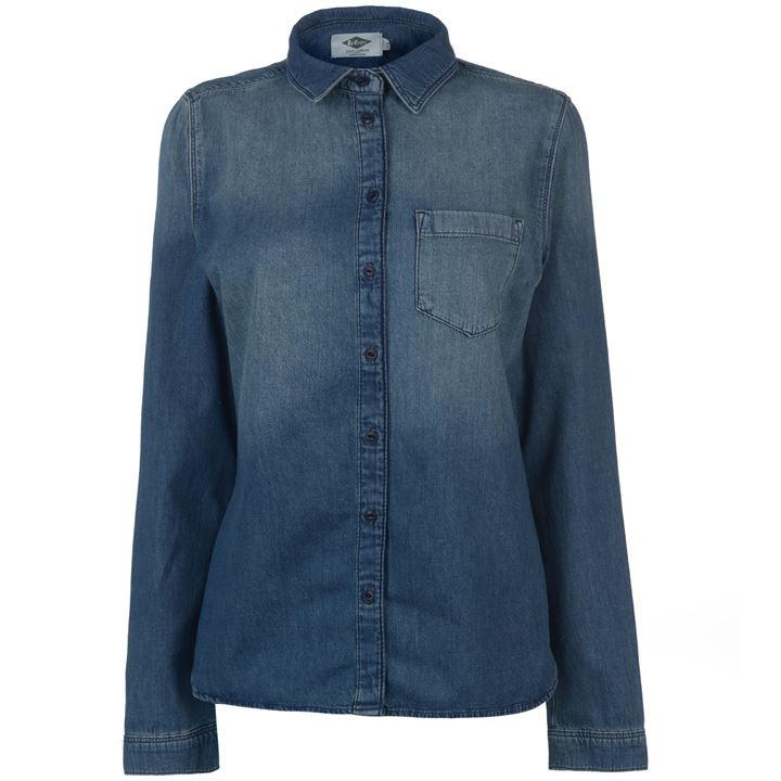 Lee Cooper Washed Chambray Shirt