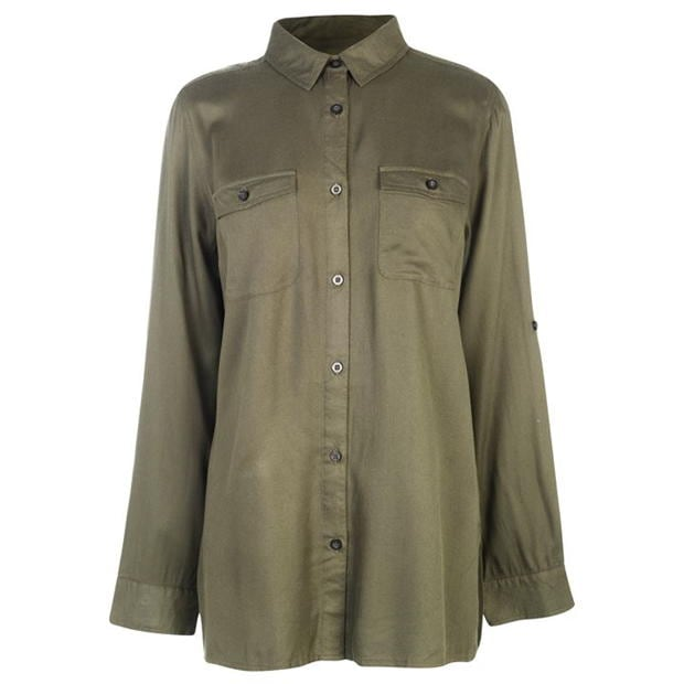 Kangol Military Long Sleeve Shirt Ladies