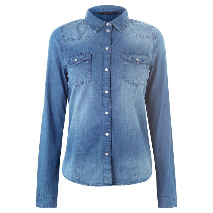Only Rock It Denim Shirt