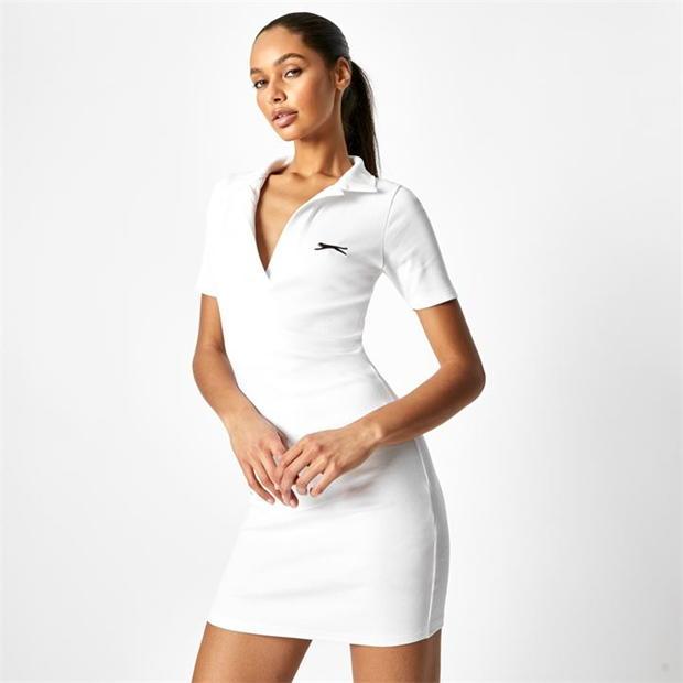 Slazenger x Sophia & Cinzia Polo Bodycon Mini Dress