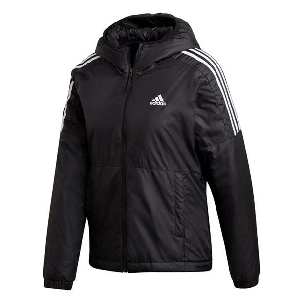 adidas 3S Essential Hooded Jacket Womens