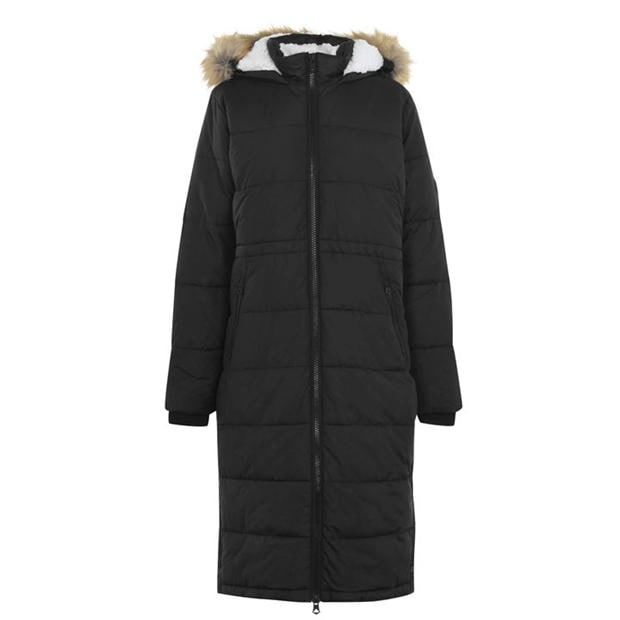 SoulCal Extreme Long Padded Jacket Ladies