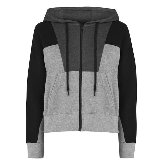 LA Gear Drop Zip Hoodie Ladies