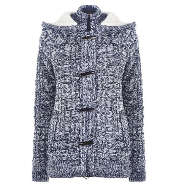 SoulCal Toggle Knit Jacket Ladies
