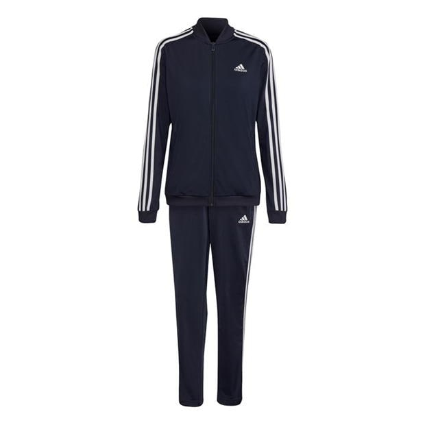 adidas Womens Back 2 Basics 3-Stripes Tracksuit