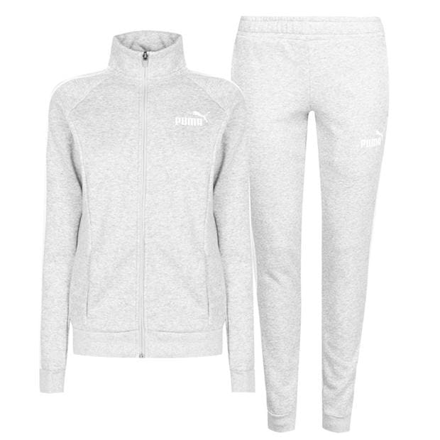 Puma Fleece Sweat Suit Womens