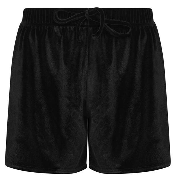 Miso Miso Velour Shorts