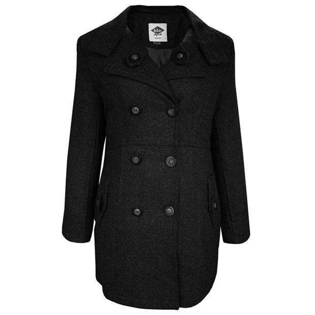 Lee Cooper Wool Blend Coat Ladies