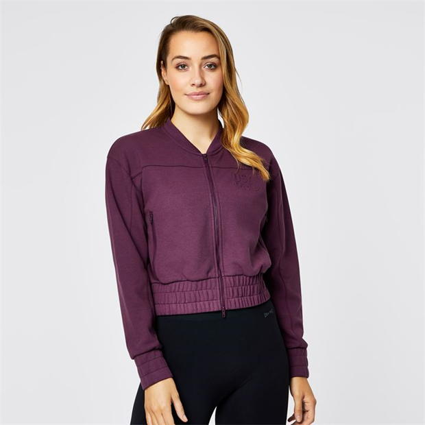 USA Pro Fleece Bomber Jacket Ladies