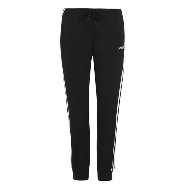 adidas Essential 3 Stripe Closed Hem Pants Ladies