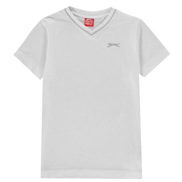 Slazenger V Neck T Shirt Junior Boys