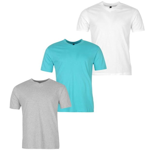Donnay 3 Pack V Tee Sn00
