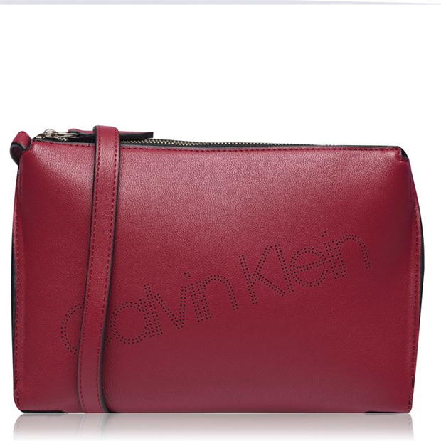 Calvin Klein Punched Crossbody Bag