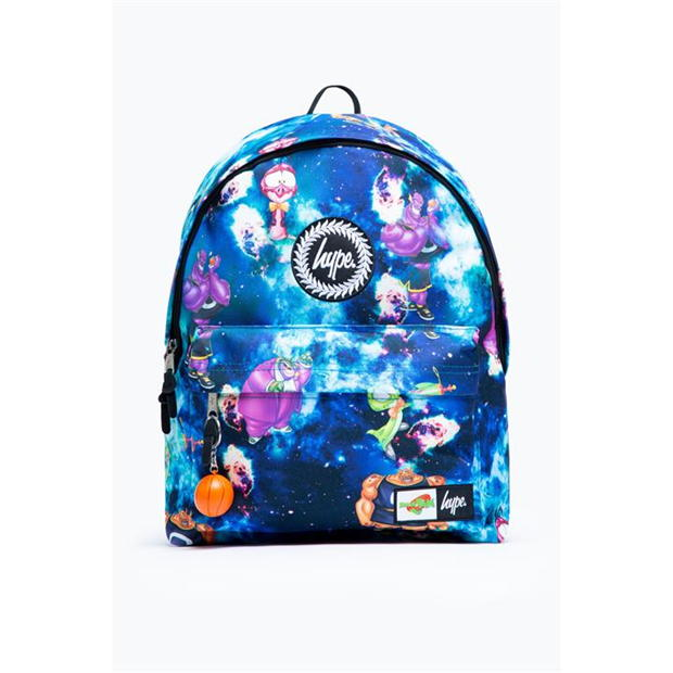 Hype x Space Jam Retro Character Print Badge Backpack