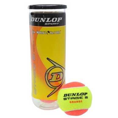 Dunlop Mini Tennis Orange 3 Ball Tube
