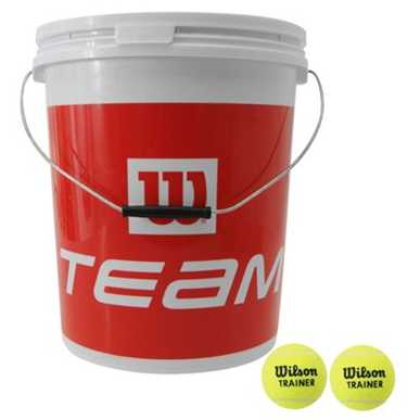 Wilson 72 Training Tennis Balls Bucket