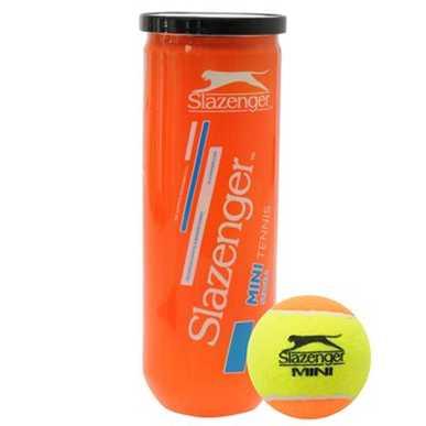 Slazenger Orange Mini Tennis Balls 3 Ball Tubes