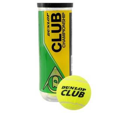 Dunlop Club Championship 3 Pack Tennis Balls