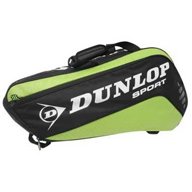 Dunlop Tour 6 Racket Green Tennis Racket Bag