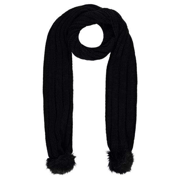 Firetrap Cable Knit Scarf Ladies