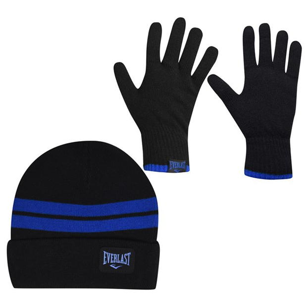 Everlast Glove and Hat Set Junior