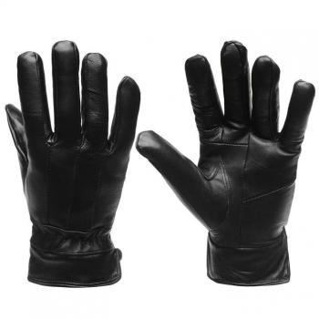 SALE: 40% скидки от стоимости! Firetrap Leather Gloves Mens L/XL