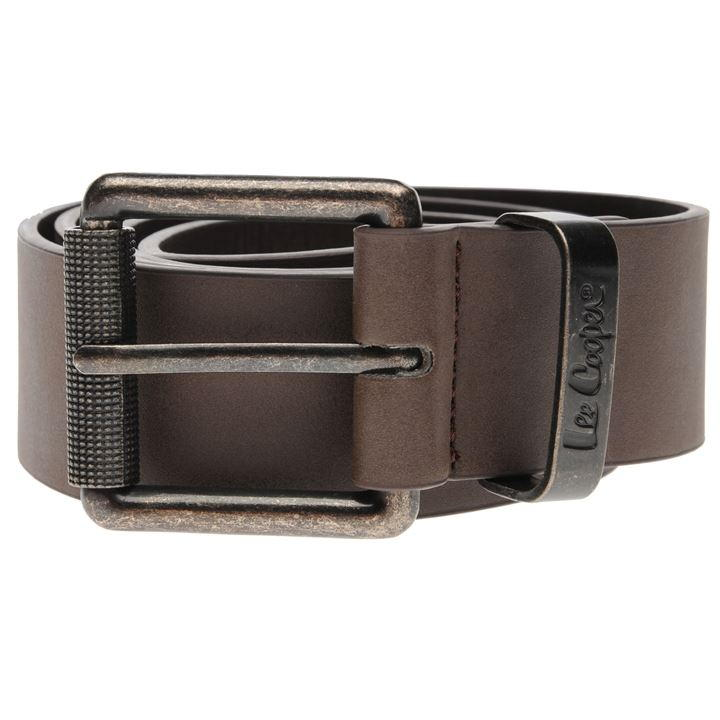 Lee Cooper Plain Belt Mens
