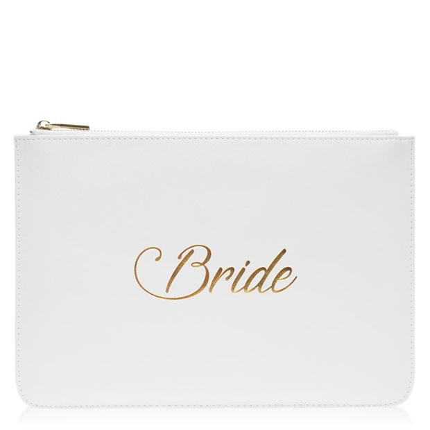 Uncut Dress Bridal Makeup Bag