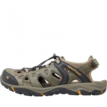 Karrimor Mens Auckland Closed Toe Leather Sandals Brown 7(41)