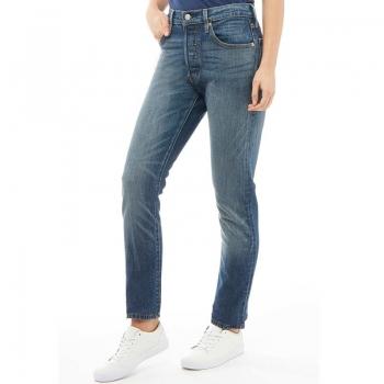 АКЦИЯ: скидка 20% от стоимости! Levi's Womens 501 Skinny Jeans Supercharger 27/30 (S)
